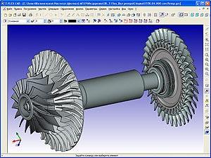 Моделирование сборки узла ротора