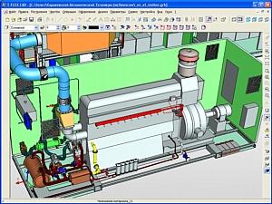 Разработка блочно-модульной газовой электростанции мощностью 1300 кВт
