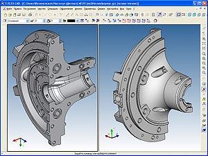 Разработка 3D-модели детали «Корпус средний 6ТК7.03.002»