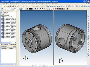 Разработка 3D-модели детали «Головка поршня 5-5Д49.22.01»
