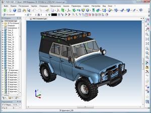 Модель автомобиля УАЗ