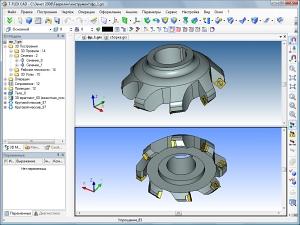 Моделирование опоры, корпуса ПУ и торцевой шабрящей фрезы для высокоточной обработки плоскостей опоры