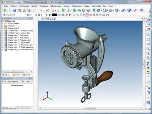Методика 3D-моделирования и сборки модели