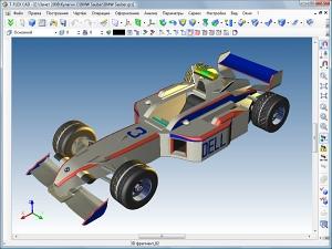 Модель болида Formula-1