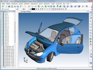 Модель автомобиля Peugeot