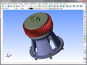Компьютерное моделирование процесса обработки Цилиндрического Арочного Зубчатого Колеса
