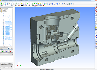 Моделирование кокиля для отливки картеров авиамодельных двухтактных двигателей