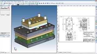 Пресс-форма на конкурс трансформатора изделия «Роботизированный комплекс»