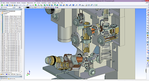 3D сборка и сборочный чертеж